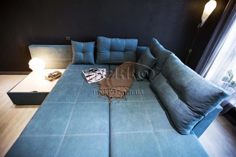 Кутовий диван з поворотним механізмом (Mercury) Меркурій ф-ка Мекко (Ортопедичний) - 3000*2150мм  Гайворон-3