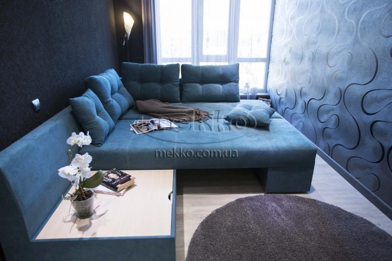 Кутовий диван з поворотним механізмом (Mercury) Меркурій ф-ка Мекко (Ортопедичний) - 3000*2150мм  Гайворон-4