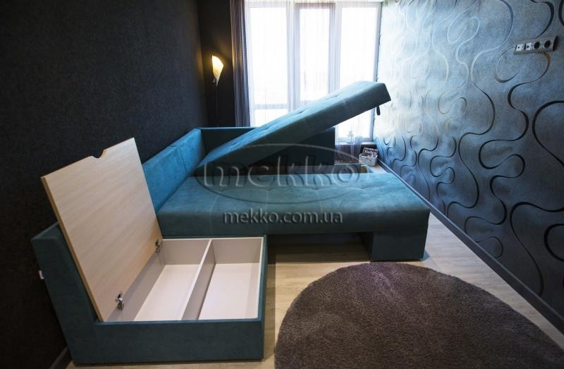 Кутовий диван з поворотним механізмом (Mercury) Меркурій ф-ка Мекко (Ортопедичний) - 3000*2150мм  Гайворон-7