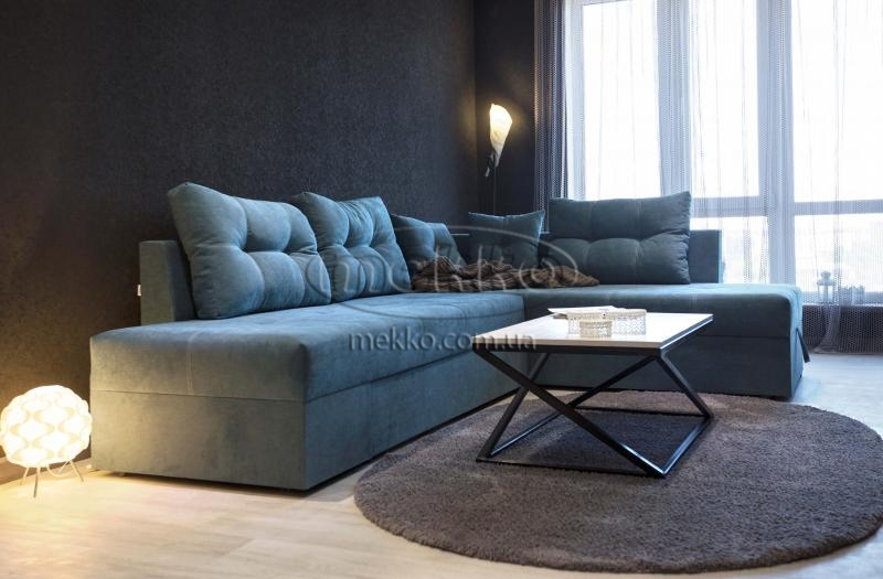 Кутовий диван з поворотним механізмом (Mercury) Меркурій ф-ка Мекко (Ортопедичний) - 3000*2150мм  Гайворон
