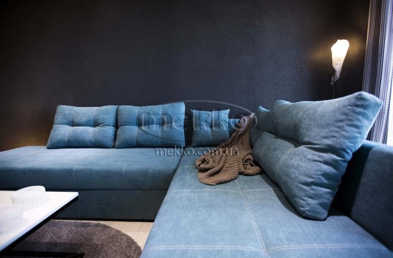 Кутовий диван з поворотним механізмом (Mercury) Меркурій ф-ка Мекко (Ортопедичний) - 3000*2150мм  Гайворон-5