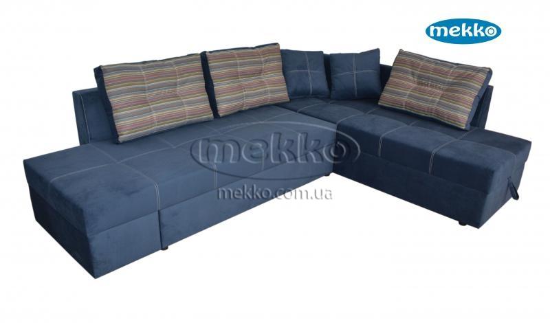 Кутовий диван з поворотним механізмом (Mercury) Меркурій ф-ка Мекко (Ортопедичний) - 3000*2150мм  Гайворон-13