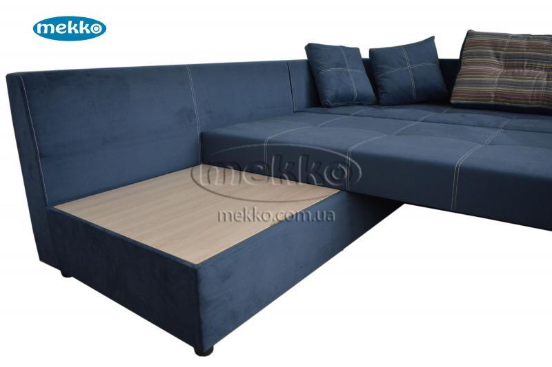 Кутовий диван з поворотним механізмом (Mercury) Меркурій ф-ка Мекко (Ортопедичний) - 3000*2150мм  Гайворон-17