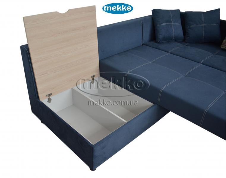 Кутовий диван з поворотним механізмом (Mercury) Меркурій ф-ка Мекко (Ортопедичний) - 3000*2150мм  Гайворон-18