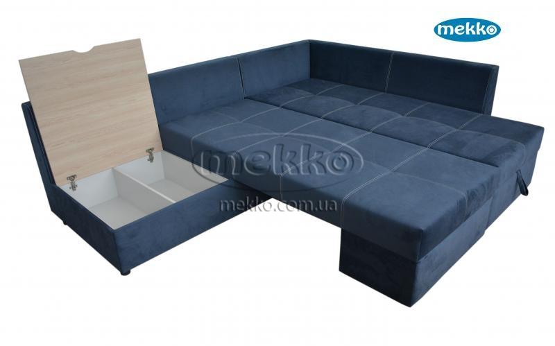 Кутовий диван з поворотним механізмом (Mercury) Меркурій ф-ка Мекко (Ортопедичний) - 3000*2150мм  Гайворон-19
