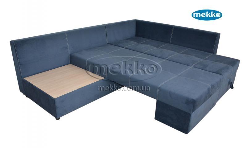 Кутовий диван з поворотним механізмом (Mercury) Меркурій ф-ка Мекко (Ортопедичний) - 3000*2150мм  Гайворон-16