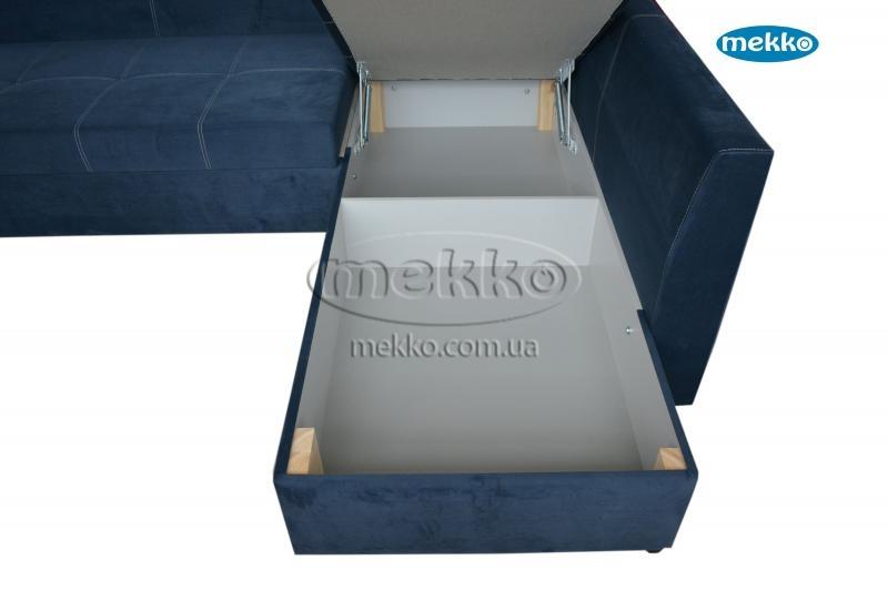 Кутовий диван з поворотним механізмом (Mercury) Меркурій ф-ка Мекко (Ортопедичний) - 3000*2150мм  Гайворон-20