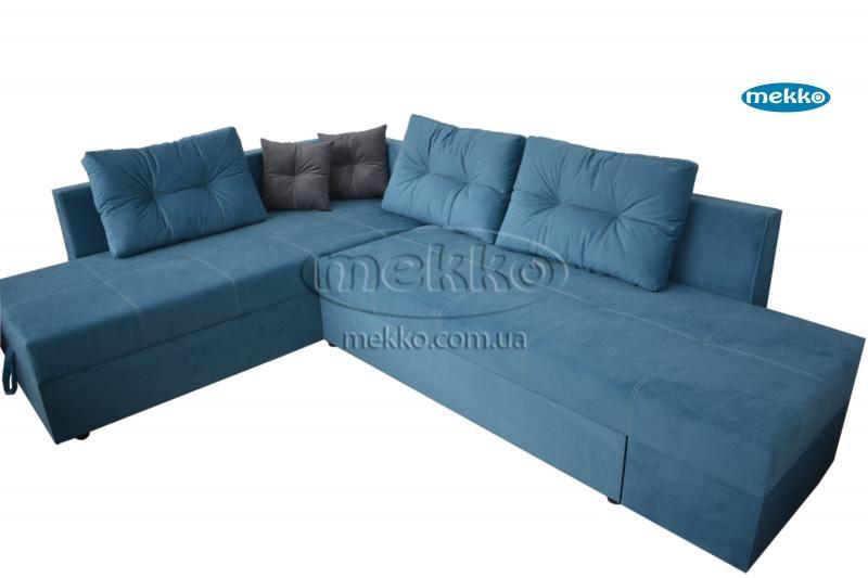 Кутовий диван з поворотним механізмом (Mercury) Меркурій ф-ка Мекко (Ортопедичний) - 3000*2150мм  Гайворон-10