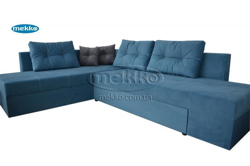Кутовий диван з поворотним механізмом (Mercury) Меркурій ф-ка Мекко (Ортопедичний) - 3000*2150мм  Гайворон-11