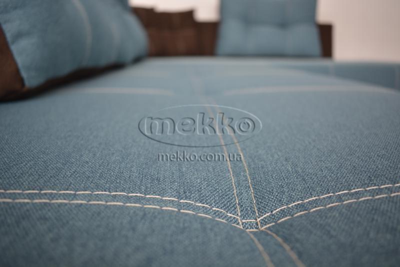 Кутовий диван з поворотним механізмом (Mercury) Меркурій ф-ка Мекко (Ортопедичний) - 3000*2150мм  Гайворон-9