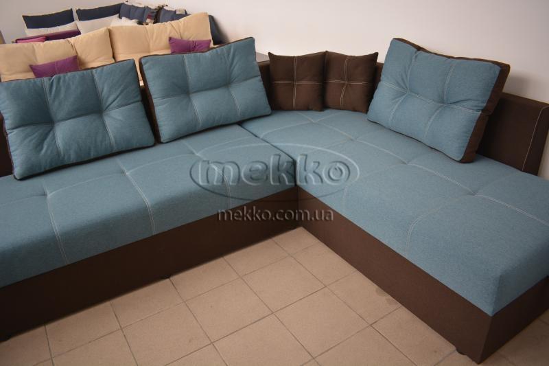 Кутовий диван з поворотним механізмом (Mercury) Меркурій ф-ка Мекко (Ортопедичний) - 3000*2150мм  Гайворон-8