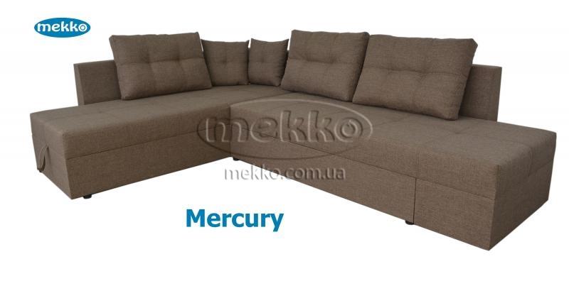 Кутовий диван з поворотним механізмом (Mercury) Меркурій ф-ка Мекко (Ортопедичний) - 3000*2150мм  Гайворон-12